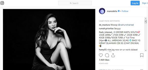 Manohara Odelia Pinot. Foto: Instagram