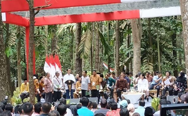 Jokowi di Jambi
