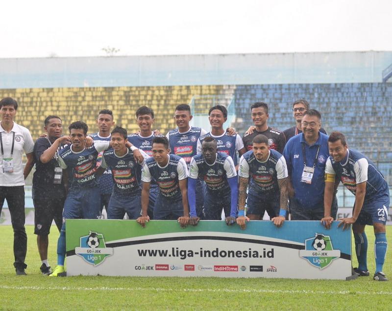 Arema FC. Foto: Twitter Arema FC