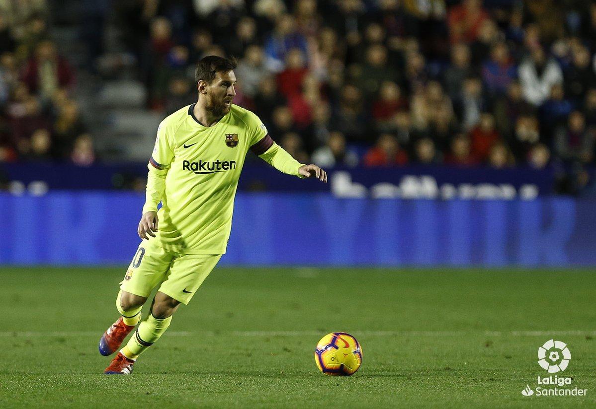 Lionel Messi. Foto: Twitter Liga Spanyol