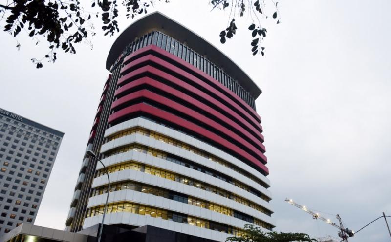 Gedung KPK (Foto : Arie Dwi Satrio/Okezone)