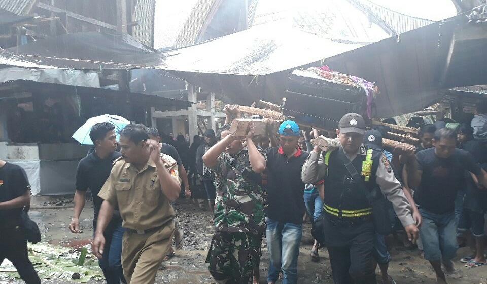 Pemakaman korban KKB Papua
