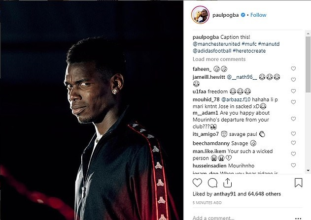 Paul Pogba (Foto: Instagram)