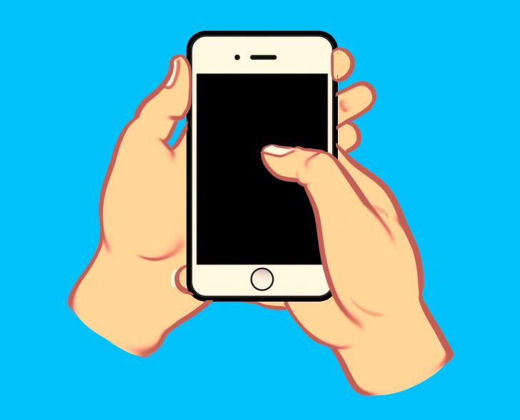 Pegang Ponsel