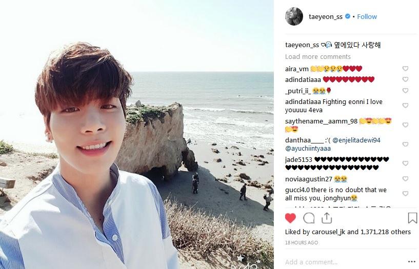 Taeyeon dan Jonghyun