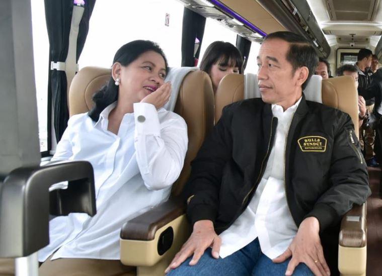 Jokowi dan Ibu Negara Iriana Jokowi