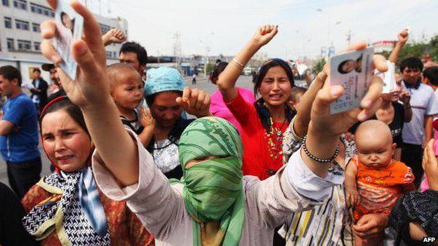 China dituduh melancarkan tindakan keras terhadap kalangan Uighur beberapa tahun terakhir ini (AFP)