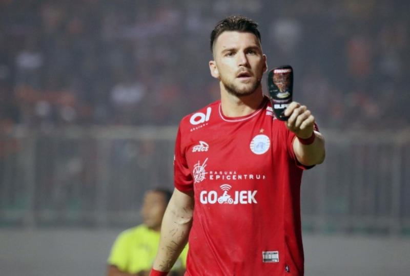 Marko Simic (Foto: Laman resmi Persija)