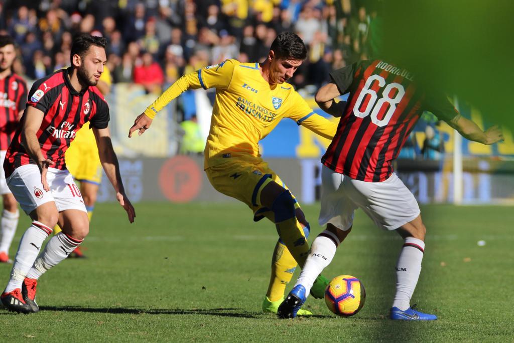 Frosinone vs AC Milan (Foto: Twitter Frosinone)