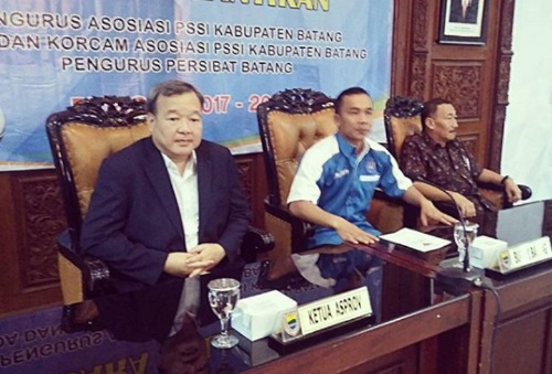 Ketua Asprov PSSI Jateng Johar Lin Eng (PSSI Jateng/Instagram)