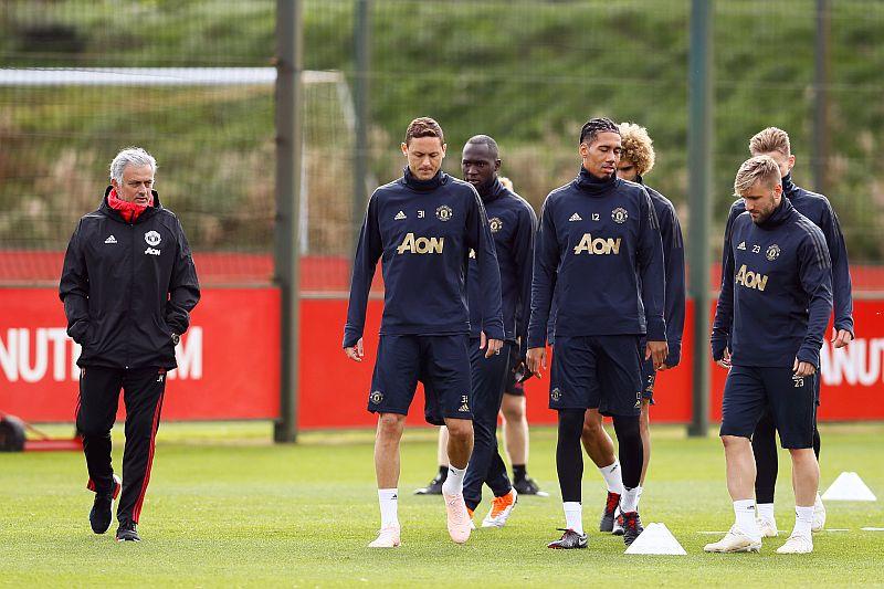 Man United berlatih