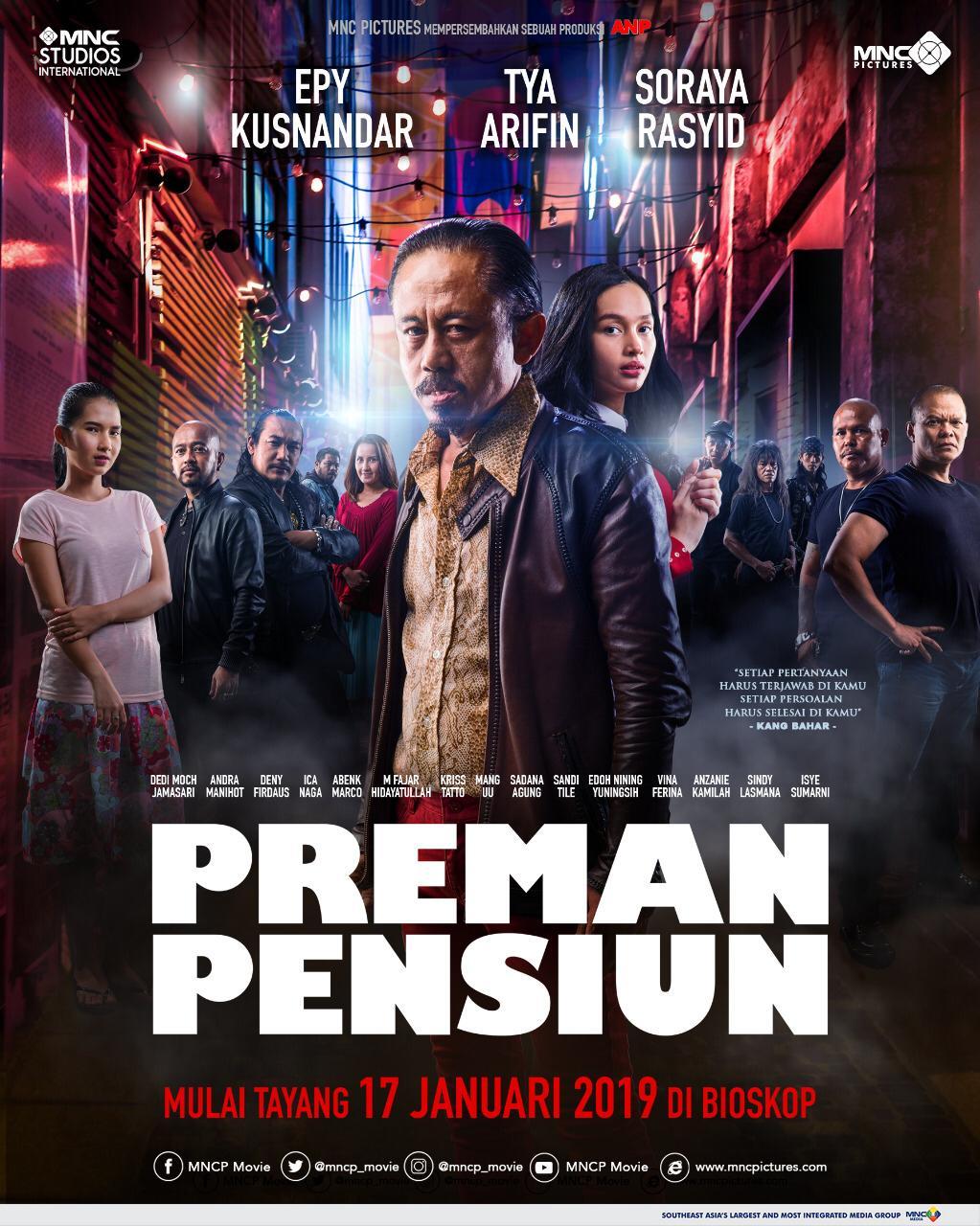 Poster Preman Pensiun