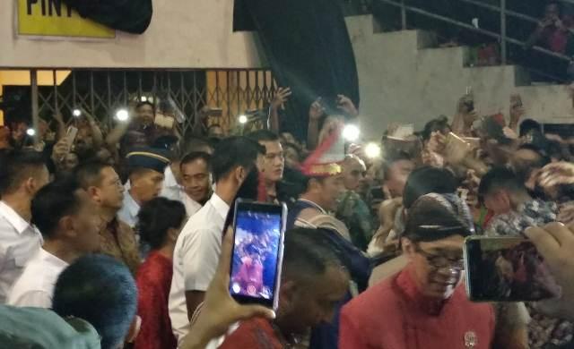 Jokowi hadiri Natal Nasional di Medan