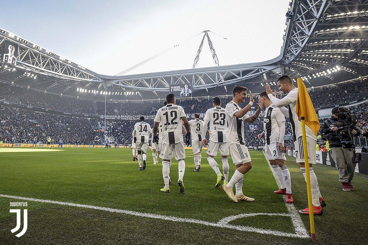Juventus vs Sampdoria (Foto: Juventus/Twitter)