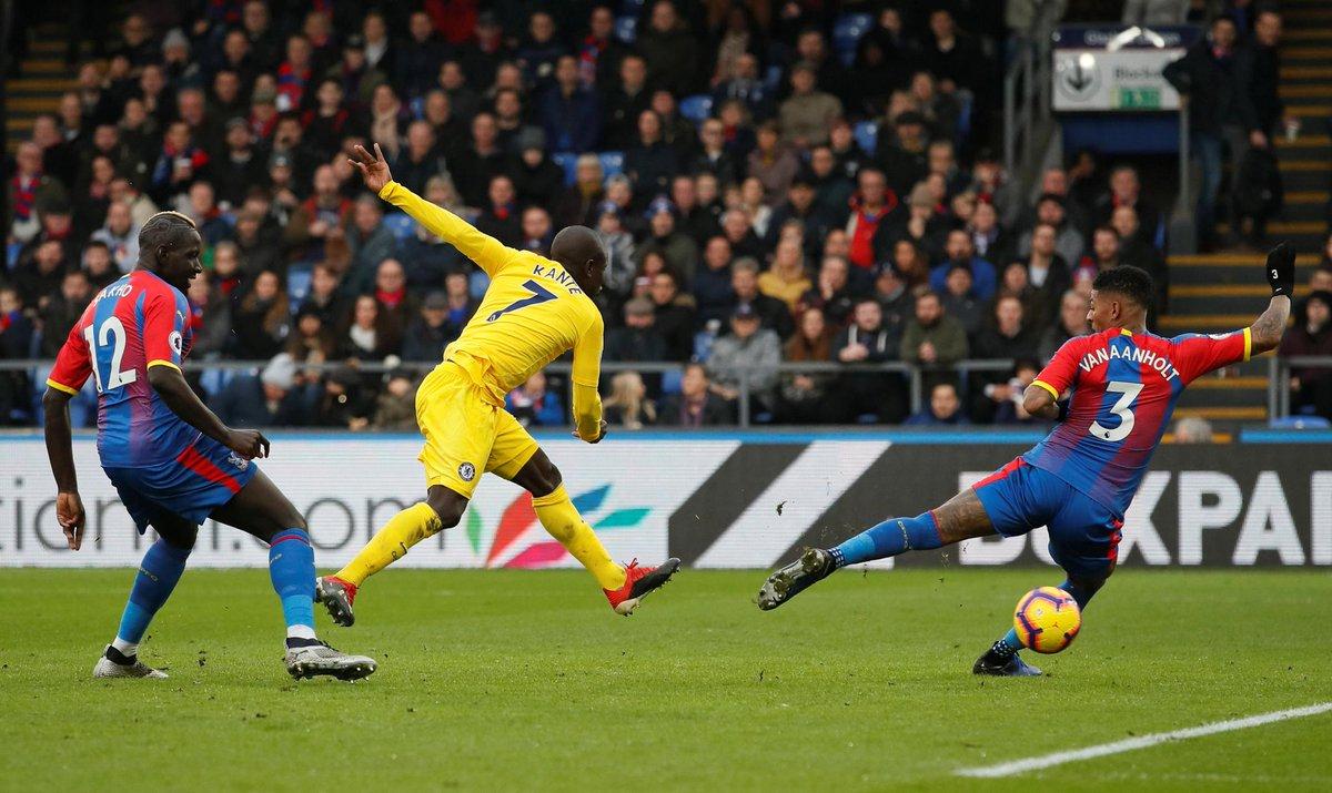 Crystal Palace vs Chelsea (Foto: Twitter Premier League)