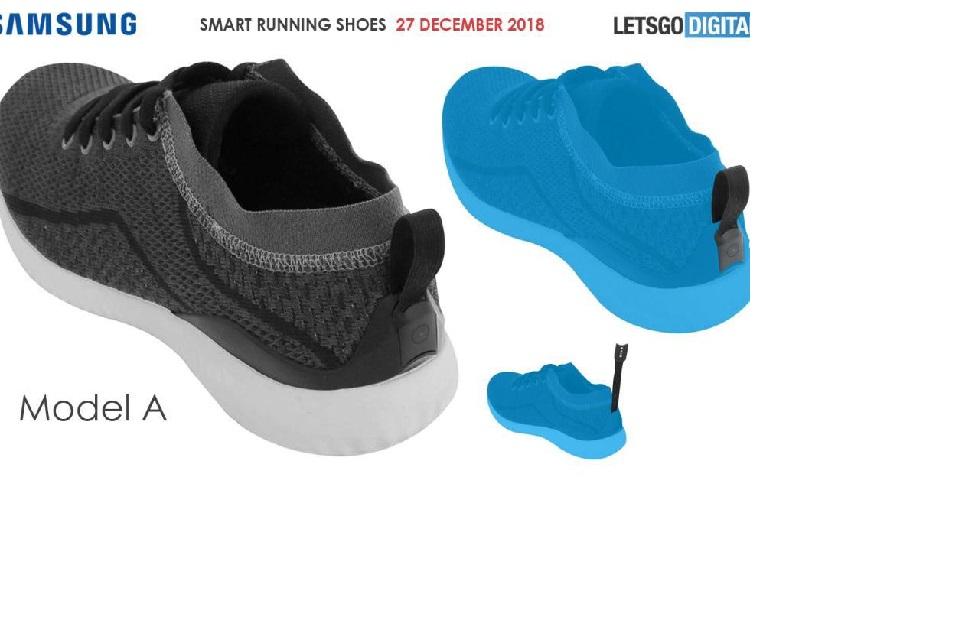 Ilustrasi Sepatu Samsung