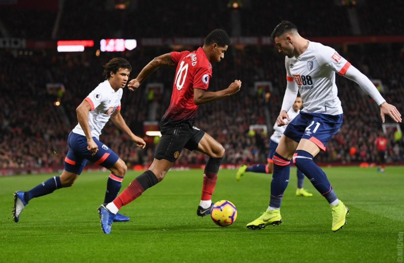 Man United vs Bournemouth (Foto: Twitter Man United)