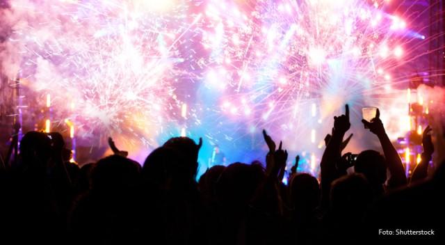 Ilustrasi perayaan tahun baru