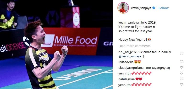Instagram Kevin Sanjaya