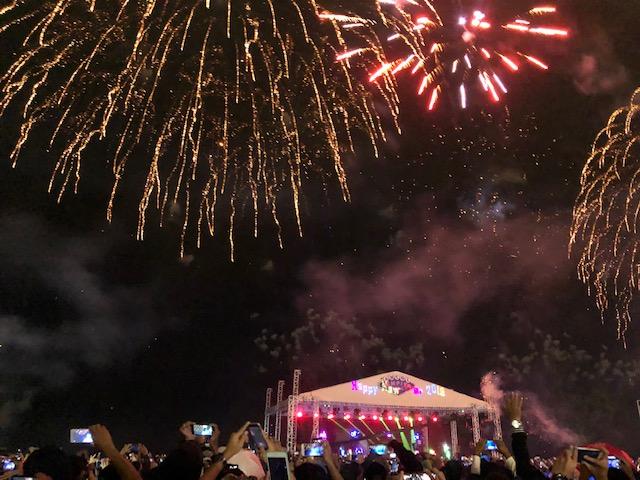 Pesta kembang api ANCOL