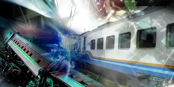 Ilustrasi Kecelakaan Kereta (foto: Okezone)