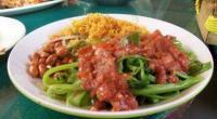 Pedas-Gurih Plecing Ayam Lombok