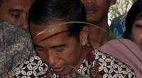 Baju Batik Jokowi Dijahit Sendiri