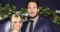 Sudah Berpisah, Chris Pratt Puji Kecantikan Anna Faris saat di Emmy 2017
