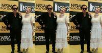 ITA 2017: Kompak! Gaya Indra Birowo dan Ayu Dewi Tampil Memikat saat Bacakan Nominasi