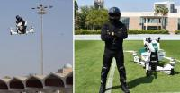 Keren! Polisi Gunakan Teknologi Motor Terbang untuk Patroli