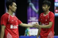2 Wakil Ganda Putra Terhenti di Denmark Open 2017, Ahsan/Ryan Akui Kehilangan Fokus