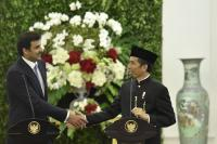 Ke Indonesia, Emir Qatar Dapat Oleh-Oleh 10 Paket Kopi dari Presiden Jokowi