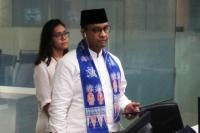 Dapat Laporan Tanggul Jebol di Jatipadang, Anies Datangi <i>Basecamp</i> Jakarta Smart City