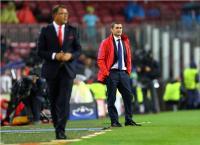 Barcelona Bantai Olympiakos 3-1, Valverde Akui Sulit Bermain dengan 10 Orang