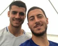 Morata dan Hazard Jadi Andalan Chelsea, Willian: Mereka Punya Kualitas Luar Biasa