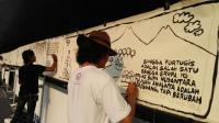 Begini Cara Puluhan Komikus Peringati Hari Santri Nasional di Semarang