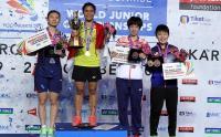Kalahkan Tunggal Putri China di Final Kejuaraan Dunia Bulu Tangkis Junior 2017, Gregoria: Saya Fokus Bisa Juara