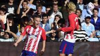 Jadi Pahlawan Kemenangan Atletico, Gameiro Tak Gentar Bersaing dengan Diego Costa di Paruh Kedua Musim 2017-2018