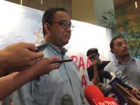Telefon Dirut MRT Tengah Malam, Anies Minta Korban Tertimpa Beton Tak Hanya Ditanggung Kesehatannya