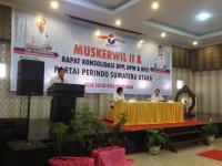 Buka Muskerwil Perindo Sumut, Hary Tanoe: Kita Harus Jadi Partai Besar!