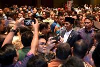Buka Munas Ke-10 KAHMI, Jokowi: Saya Hadir di Tengah-Tengah Orang Hebat!