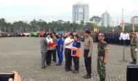 Gelar Apel Operasi Siaga, Gubernur Anies Baswedan Pastikan Jakarta Siap Antisipasi Bencana