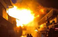 Gudang Pakan Ayam Ludes Terbakar saat Adzan Magrib Berkumandang