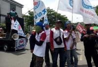 Ribuan Buruh Cari Ganjar Minta Kenaikan Upah
