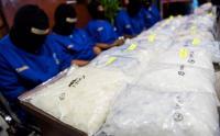 Polisi Larutkan Sabu 1,3 Kilogram Asal Malaysia ke Dalam Air