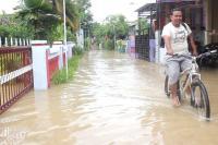 Sungai Kendal Meluap, Rumah Warga di Dua Desa Tergenang Banjir