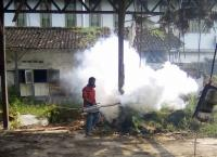 Perindo Jembrana <i>Fogging</i> Permukiman di Gilimanuk