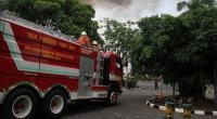 Laboratorium Sekolah Al Amin Terbakar, Petugas Kerahkan 6 Mobil Damkar