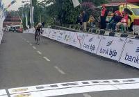 Hari Pertama Tour de Linggarjati 2017, Pesepeda Indonesia Mendominasi