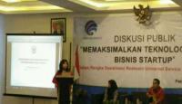 Evita Nursanty Dorong UKM Jateng Manfaatkan Teknologi Informasi untuk Maksimalkan Bisnis Startup